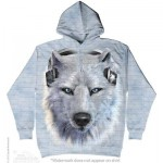 SWEAT SHIRT  LOUP BLANC DJ