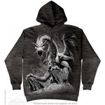 SWEATSHIRT DRAGON NOIR