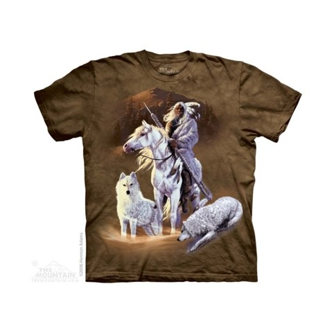 TEE SHIRT INDIEN AVEC ANIMAUX
