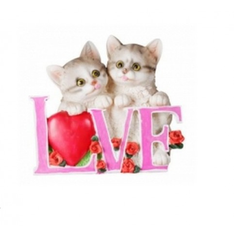 FIGURINE CHAT LOVE