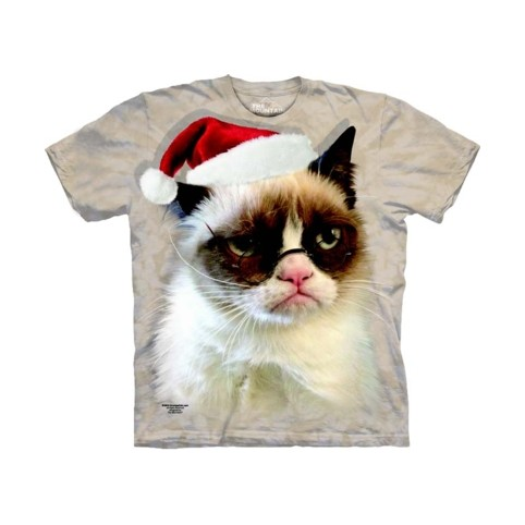 TEE SHIRT CHAT PERE NOEL