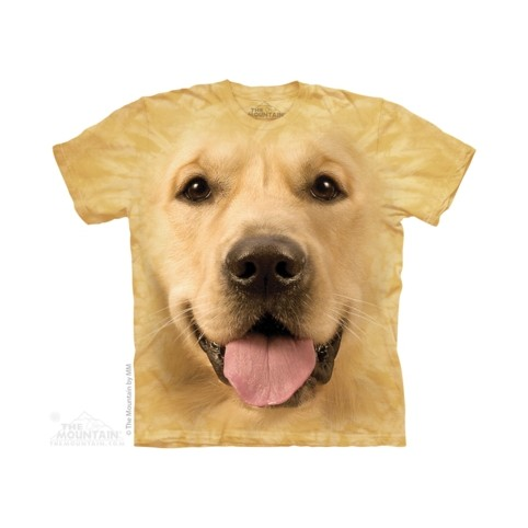 TEE SHIRT GOLDEN RETRIEVER