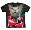 TEE SHIRT CHAT LASER