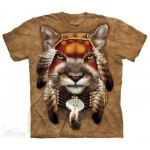 TEE SHIRT LION GUERRIER