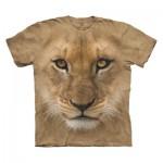 TEE SHIRT ENFANT TETE DE LION