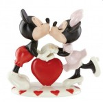 Figurine mickey et minnie au piano achat vente figurine de collection mickey - Mickey minnie amoureux ...