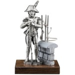 GENERAL AMBERT-  FIGURINE ETAINS DU PRINCE