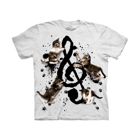 TEE SHIRT CHAT MUSIQUE