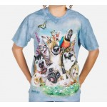 TEE SHIRT ANIMAUX