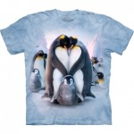 TEE SHIRT ENFANT PINGOUIN COEUR