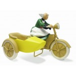 FIGURINE BECASSINE SIDE-CAR LEBLON DELIENNE