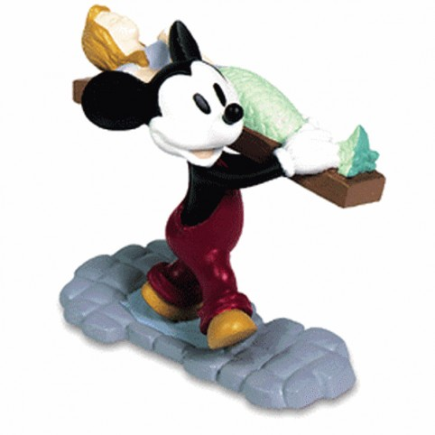 FIGURINE MICKEY BOAT BUILDER