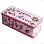 BOITE RECTANGULAIRE GM LES JOYAUX DE LA PRINCESSE