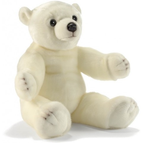 PELUCHE OURSON FLOCON 60 CM