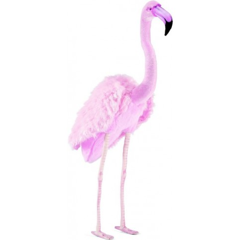 PELUCHE FLAMAND ROSE 70 CM