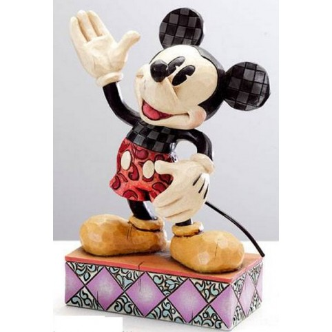 FIGURINE MICKEY HEARTWOOD CREEK