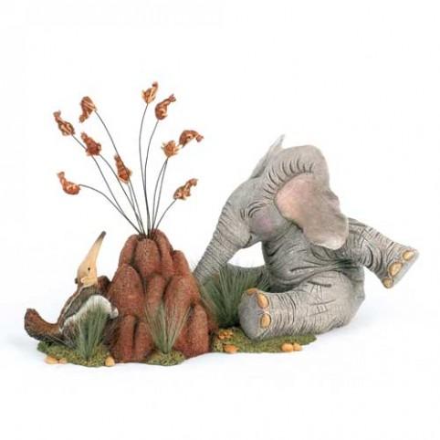 FIGURINE ELEPHANT FOURMILIER