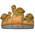 FIGURINE TORTUES : ENSEMBLE DE 3