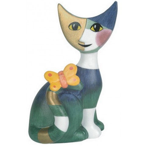 FIGURINE MINIATURE CHAT MARCELLO - ROSINA WACHTMEISTER