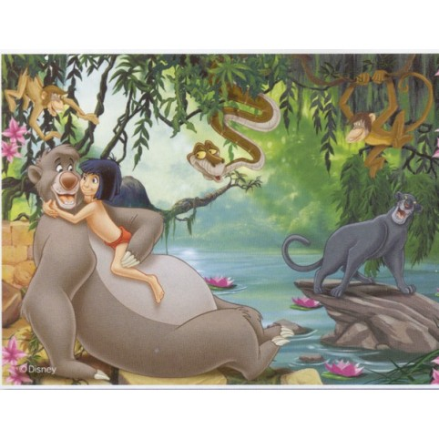PUZZLE LE LIVRE DE LA JUNGLE 35 PIECES