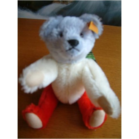 PELUCHE OURS STEIFF TEDDY PERSONNALISEE