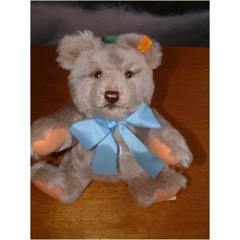 PELUCHE OURS STEIFF TEDDY CLASSIQUE JACKIE MOHAIR