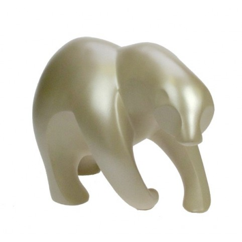 FIGURINE OURS POLAIRE CREME