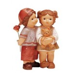 FIGURINE NINA ET MARCO : &quot;UN CADEAU POUR TOI&quot;