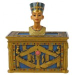 BOITE NEFERTITI COULEUR