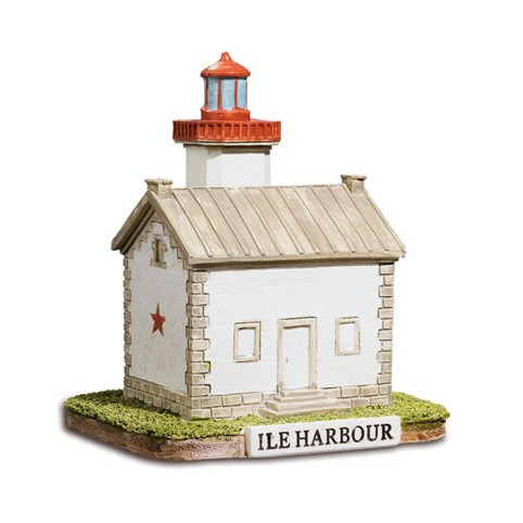 FIGURINE PHARE DE L'ILE HARBOUR