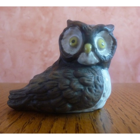 MINI FIGURINE HIBOU ASSIS