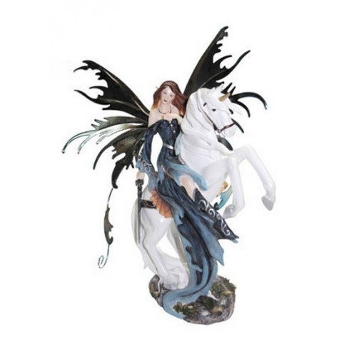 FIGURINE FEE SUR LICORNE