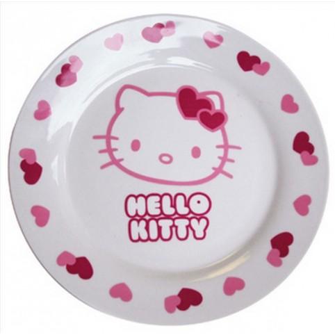 ASSIETTE PLATE HELLO KITTY