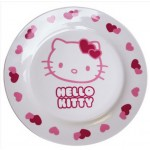 ASSIETTE PLATE HELLO KITTY