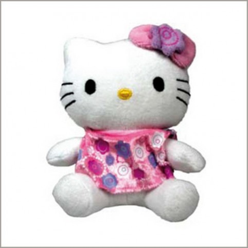EPONGE HELLO KITTY FLOWERS