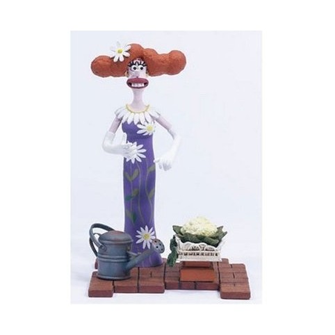 FIGURINE WALLACE ET GROMIT - LADY TOTTINGTON