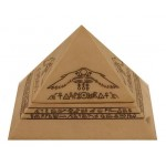 COFFRET PYRAMIDE IVOIRE
