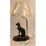 LAMPE CHAT EGYPTIEN