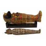 FIGURINE SARCOPHAGE CHAT