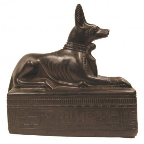 FIGURINE ANUBIS CHACAL