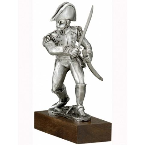 GENERAL DROUET D'ERLON FIGURINE ETAINS DU PRINCE