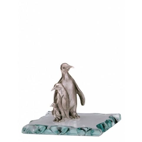FIGURINE PINGOUIN EN ETAIN