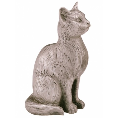 FIGURINE CHAT EN ETAIN