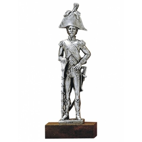 "FIGURINE SOLDAT ""TAMBOUR-MAJOR DU 1er REGIMENT  ETAINS DU PRINCE"