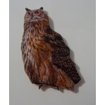 MAGNET HIBOU GRAND DUC
