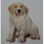 MAGNET CHIOT GOLDEN RETRIEVER