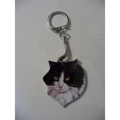 PORTE CLES CHAT