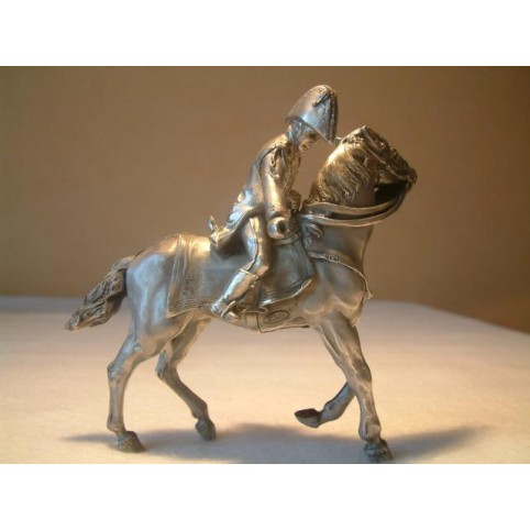 FIGURINE ESTAFETTE A CHEVAL CAMP IMPERIAL AUSTERLITZ