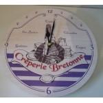 HORLOGE CREPERIE BRETONNE