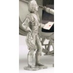 "FIGURINE BERLINE IMPERIALE ""OFFICIER D'ESCORTE"" ETAINS DU PRINCE"